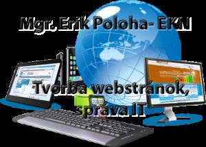 Tvorba webstránok, eshopov, hosting, správa IT od EKN